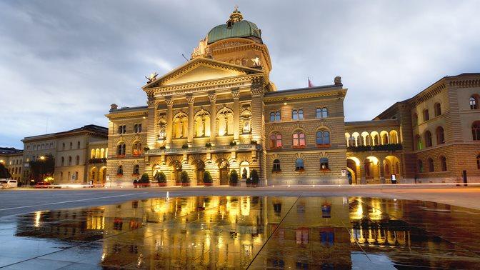 Federal Parliament in Bern