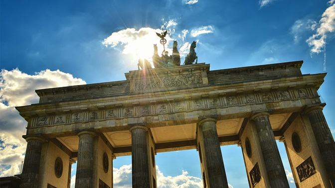 Bundestagswahlen in Deutschland, Brandenburger Tor in Berlin